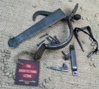 "Pewter Finish Blacksmith Suffolk Latch 8""  Ledged Brace Doors Hammered Finish"